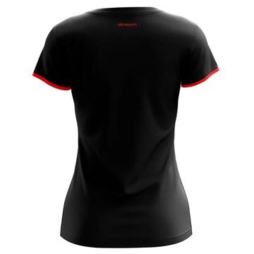 Camisa São Paulo Braziline Part Feminina - Preto