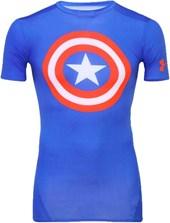 Camisa Termica Compressão Under Armour Capitão América 1244399