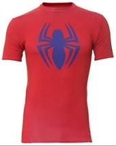 Camisa Termica Compressão Under Armour Homem Aranha 1244399