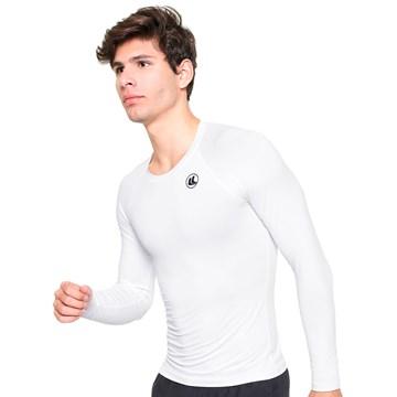 Camisa Térmica Esporte Legal Luar Manga Longa Masculina - Branco