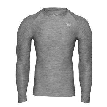 Camisa Térmica Esporte Legal Luar Manga Longa Masculina - Cinza e Preto