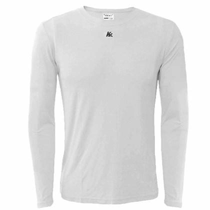 Camisa Térmica Infantil Com Proteção Solar - Branco - Esporte Legal 66152e06f9b1d