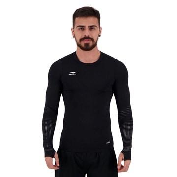Camisa Térmica Penalty Delta Pro X Masculina - Preto