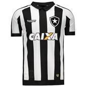 ... Camisa Topper Botafogo I 2017 Patrocínio 4200982 d83d24c316941