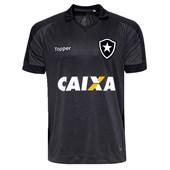 Camisa Topper Botafogo II 17/18 Com Patrocínio S/N Infantil