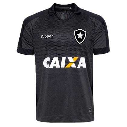 0ef193e5bd Camisa Topper Botafogo II 17 18 Com Patrocínio S N Infantil ...