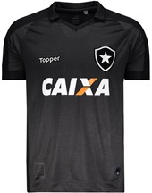Camisa Topper Botafogo II 2017 Patrocínio 4200988