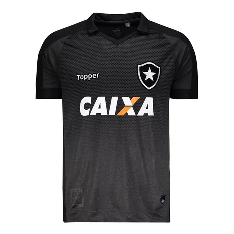 Camisa Topper Botafogo Oficial II 2017 Masculina Tamanho Especial