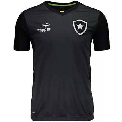 Camisa Topper Botafogo Treino - Preta - Esporte Legal 31487b910ecba