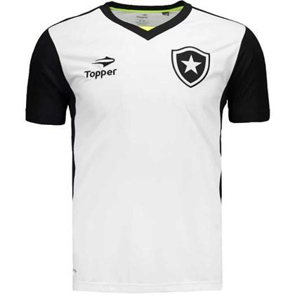 Camisa Topper Botafogo Treino - Branco - Esporte Legal 8f16545655139