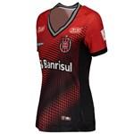 Camisa Topper Brasil de Pelotas Oficial I 2018 Feminina