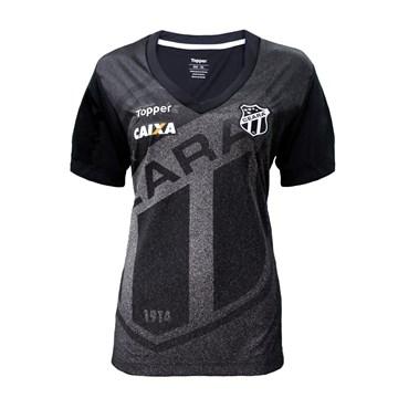 Camisa Topper Ceará Aquecimento 2018 Feminina