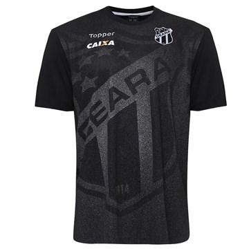Camisa Topper Ceará Oficial Aquecimento 2018 Juvenil