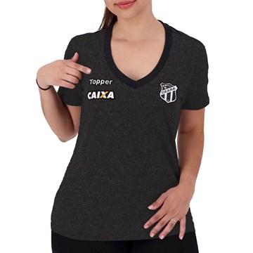 Camisa Topper Ceará Oficial Concentração 2018 Feminina