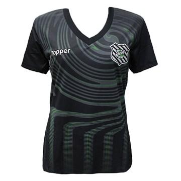 Camisa Topper Figueirense Aquecimento 2018 Feminina