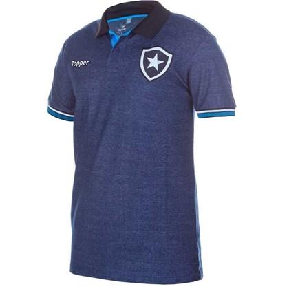 f3013b09d4 Camisa Topper Polo Viagem Botafogo - Azul Marinho - Esporte Legal