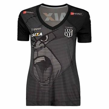 Camisa Topper Ponte Preta Aquecimento 2018 Feminina
