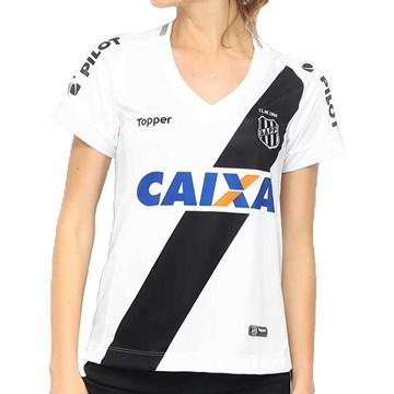 Camisa Topper Ponte Preta Oficial I 2018 Feminina