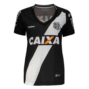 Camisa Topper Ponte Preta Oficial II 2018 Feminina