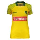 Camisa Topper Rugby Brasil 1 2017 Feminina