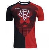 Camisa Topper Vitória Aquecimento 2017 Masculina