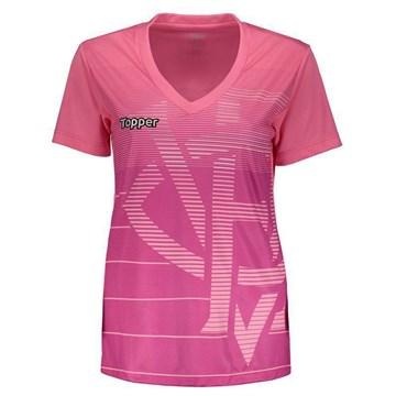 Camisa Topper Vitória Aquecimento Feminina