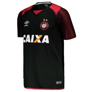 Camisa Umbro Athletico Paranaense Goleiro I 2017 Juvenil