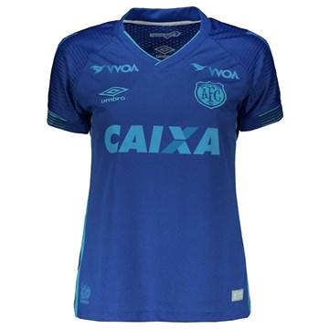 Camisa Umbro Avaí Oficial III 2017/18 Feminina