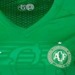 Camisa Umbro Chapecoense Oficial I 2018 Feminina