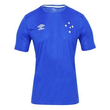 Camisa Umbro Cruzeiro Basic Masculina - Azul