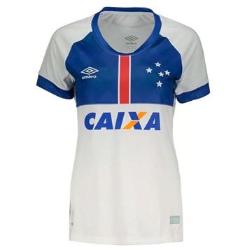 Camisa Umbro Cruzeiro Blaa Vikingur 2018 Feminina