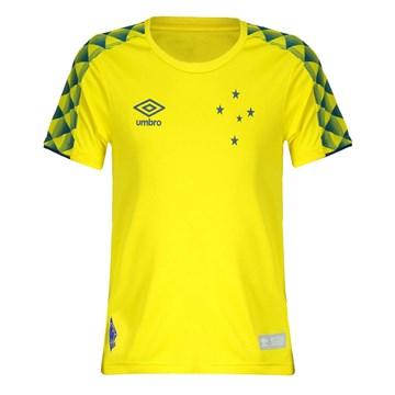 Camisa Umbro Cruzeiro Goleiro 2019 Feminina