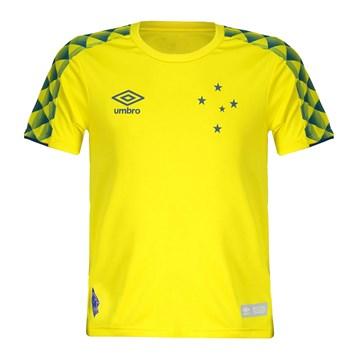 Camisa Umbro Cruzeiro Goleiro 2019 Infantil