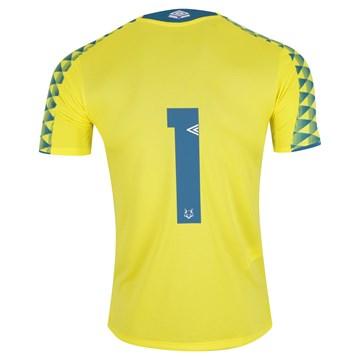 Camisa Umbro Cruzeiro Goleiro Oficial 2019 Infantil - Amarelo