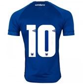 Camisa Umbro Cruzeiro Oficial 1 2018 Masculina (Game Nº10)