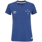 Camisa Umbro Cruzeiro Oficial 1 2019 Feminina