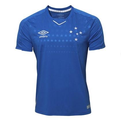 Camisa Umbro Cruzeiro Oficial 1 2019 Masculina