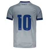 Camisa Umbro Cruzeiro Oficial 3 2018 Nº10 Masculina