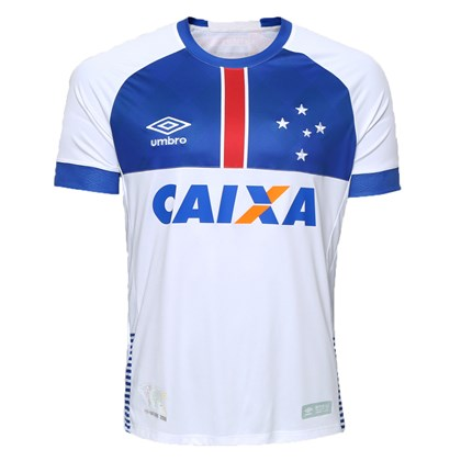 Camisa Umbro Cruzeiro Oficial Blar Vikingur 2018 Infantil