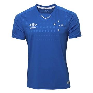 Camisa Umbro Cruzeiro Oficial I 2019 (Classic S/N) Plus Size Masculina
