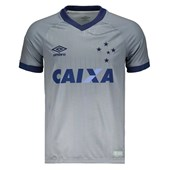 Camisa Umbro Cruzeiro Oficial III 2018 Masculina