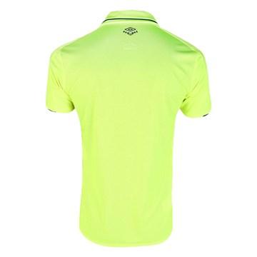 Camisa Umbro Cruzeiro Oficial III 2019 Classic S/N Masculina - Amarelo Fluor