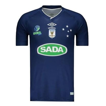 Camisa Umbro Cruzeiro Vôlei 1 Masculino - Azul Marinho - Esporte Legal b14e926e55482