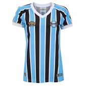 Camisa Umbro Feminina Grêmio Oficial 1 ... 066fd7bfd6f3c