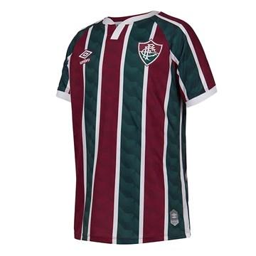 Camisa Umbro Fluminense Oficial I 2020 Infantil