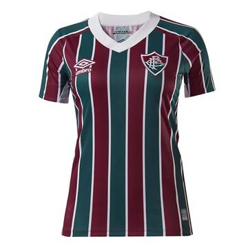 Camisa Umbro Fluminense Oficial I 2021 Feminina