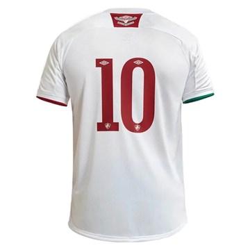 Camisa Umbro Fluminense Oficial II 2020 (Classic) Masculina - Branco