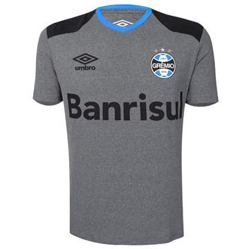 Camisa Umbro Grêmio Aquecimento 2016 Masculina - Mescla