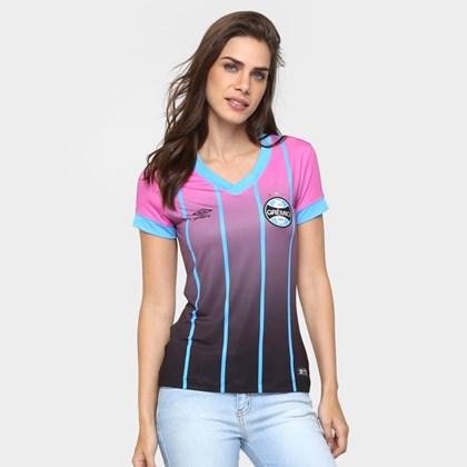 2c7a1eea20 Camisa Umbro Grêmio COM.Outubro Rosa 3G00069 - EsporteLegal