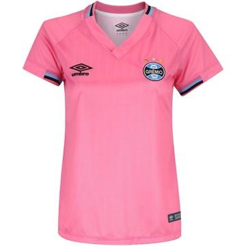 Camisa Umbro Grêmio Comemorativa Outubro Rosa 2018 Feminina